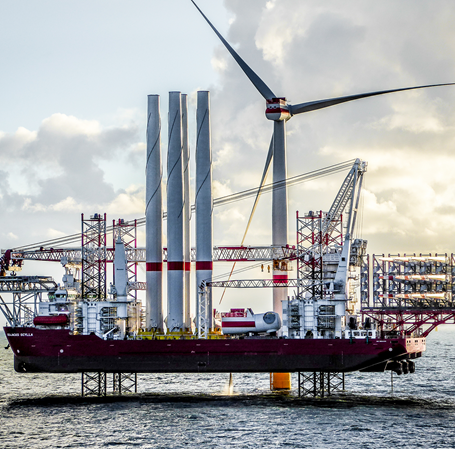 Vejameta_Offshore vindmøllepark (Siemens Gamesa Renewable Energy)